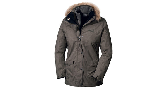 Jack Wolfskin Wave Hill Parka Women granite